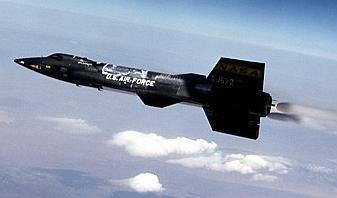X-15 in flight